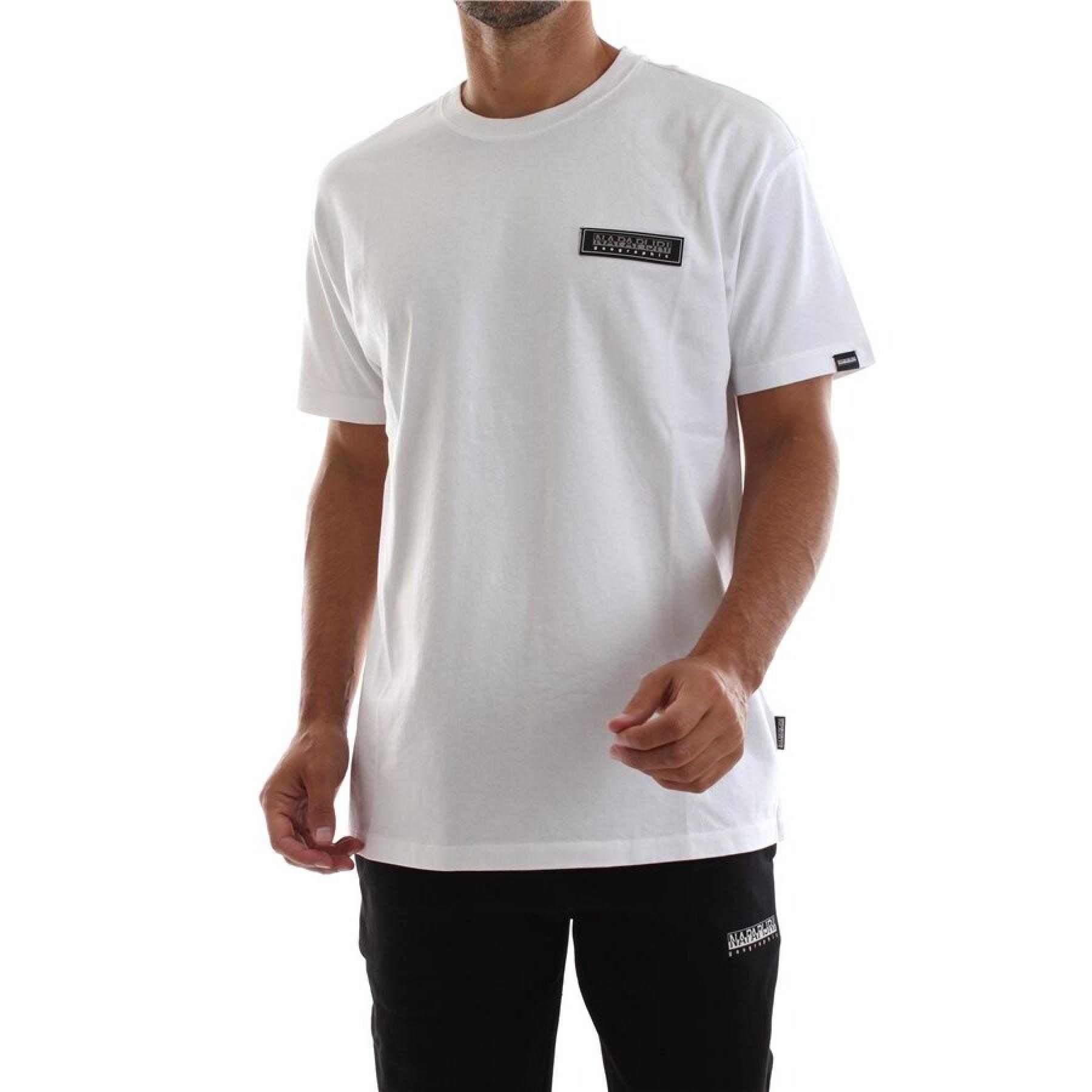 T-shirt à manches courtes Napapijri S-patch SS