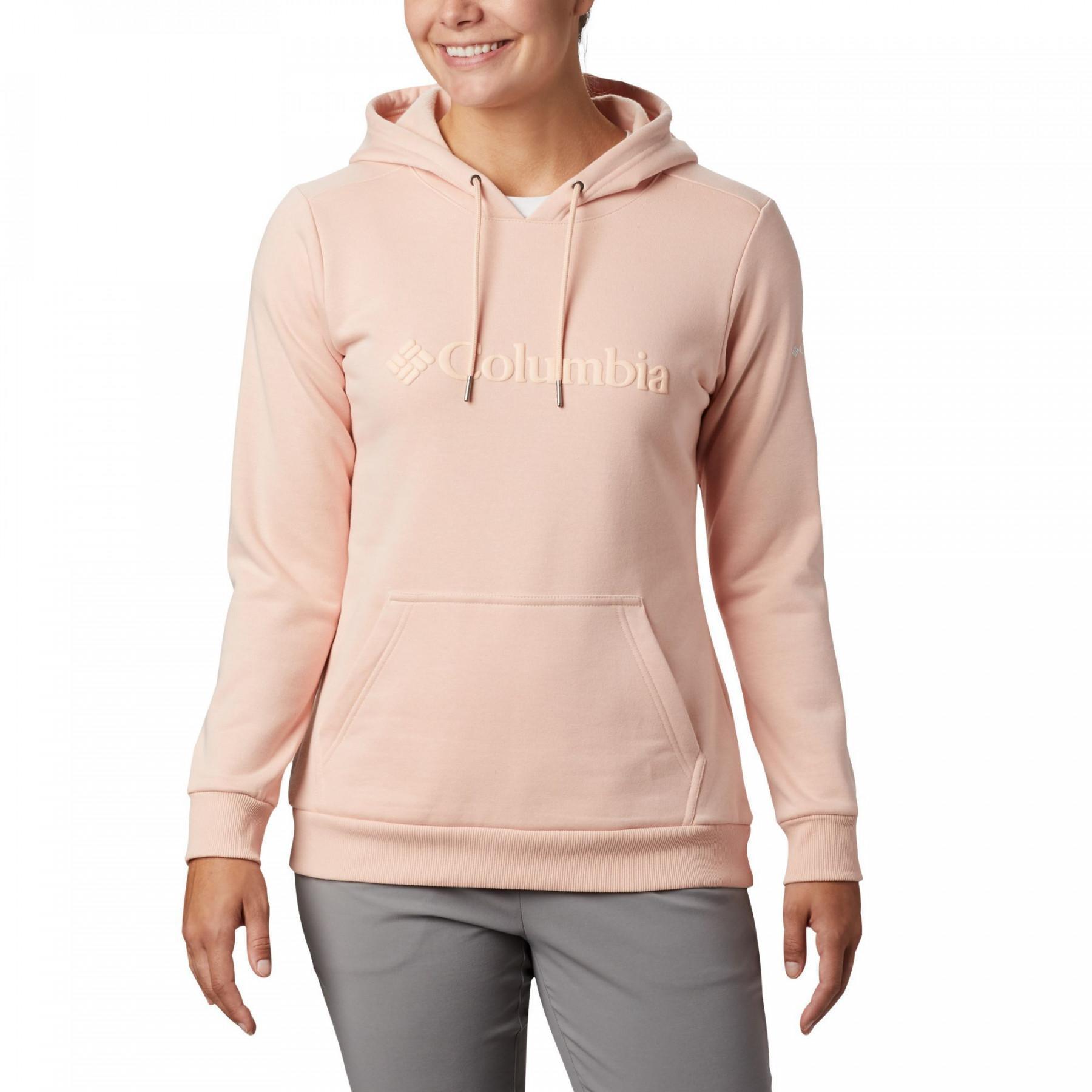 Columbia Sweatshirt /à Capuche avec Logo Femme