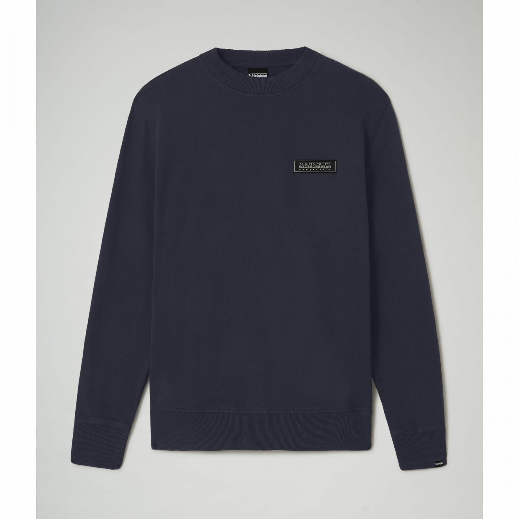 Sweatshirt éponge Napapijri B-patch