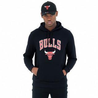 Sweat à capuche New Era Chicago Bulls