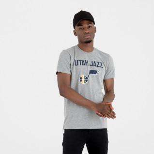 T-shirt New Era logo Utah Jazz