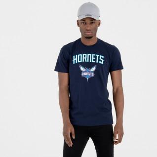 T-shirt New Era logo Charlotte Hornets