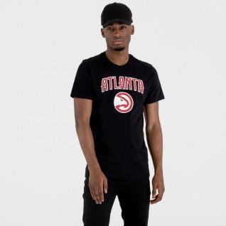 T-shirt New Era logo Atlanta Hawks
