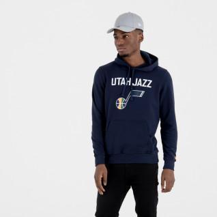Sweat à capuche New Era avec logo de l'équipe Uath Jazz