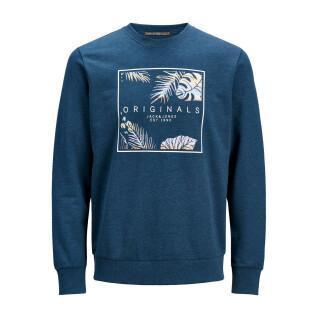 Sweatshirt enfant Jack & Jones col ras-du-cou hazys