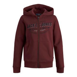 Sweatshirt à zip enfant Jack & Jones Logo