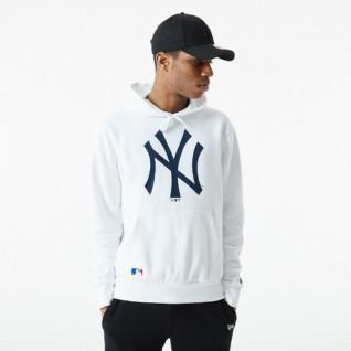 Sweat à capuche New Era MLB Infill Logo New York Yankees