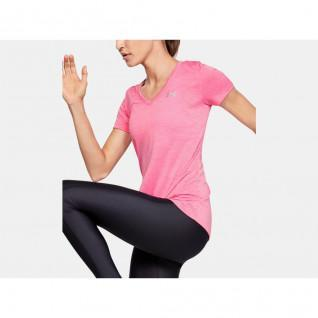 T-shirt col V femme Under Armour Twist Tech™
