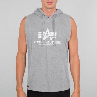 Sweatshirt à capuche sans manches Alpha Industries