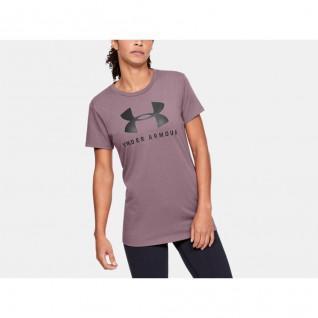 T-shirt à col ras du cou femme Under Armour Graphic Sportstyle Classic