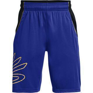 Short garçon de basket-ball Curry SC Hoops