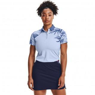 Polo femme Under Armour à manches courtes iso-chill