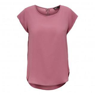 T-shirt femme Only manches courtes Vic solid