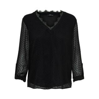 T-shirt manches longues femme Only onlmacy fold up