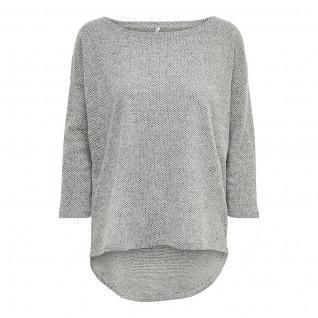 T-shirt femme Only Alba manches 3/4