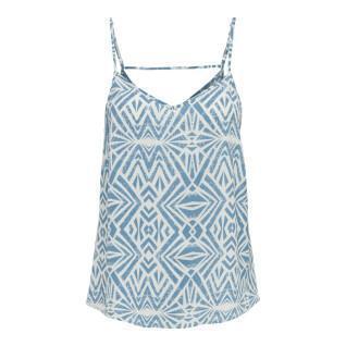 T-shirt femme Only onlnova life paris singlet aop wovens 9