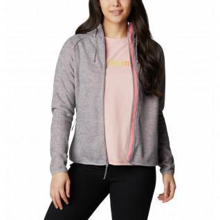 Sweatshirt à capuche femme Columbia Pacific Point FZ
