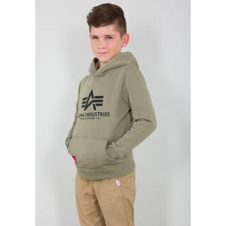 Sweat à capuche junior Alpha Industries Basic