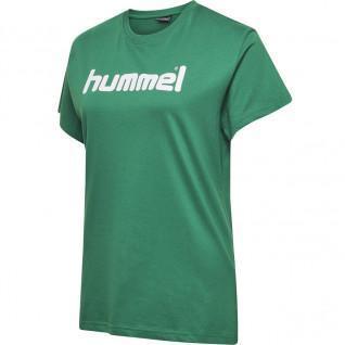 T-shirt femme Hummel Cotton Logo