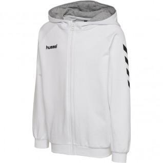 Sweatshirt junior Hummel Zip Cotton