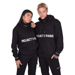 Sweat col roulé à capuche Project X Paris