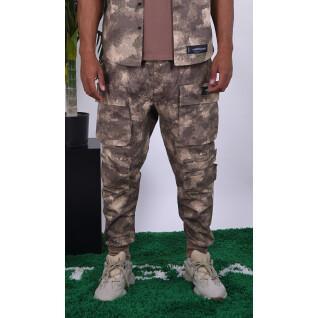 Pantalon Sixth June Cargo Camo