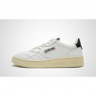 Baskets femme Autry Medalist LL22 Leather White/Black