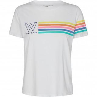 T-shirt femme Wrangler High Rib