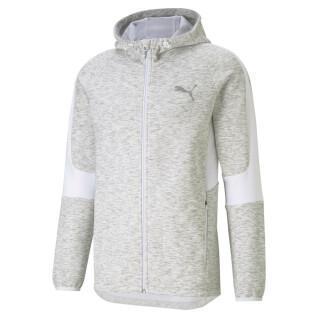 Sweatshirt Full-zip Puma Evostripe