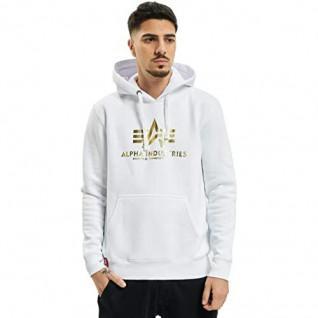 Sweatshirt à capuche Alpha Industries avec imprimé