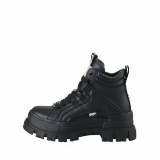 Chaussures femme Buffalo Aspha NC MID Lace Up vegan