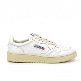 Baskets Autry Medalist LL15 Leather White/White