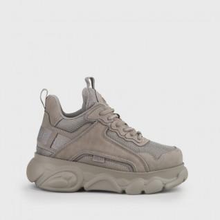Chaussures femme Buffalo Cld Chai Grey Imi Nubuck