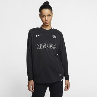 Maillot ML femme Nike F.C. Total 90