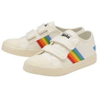 Baskets enfant Gola Coaster Rainbow Velcro