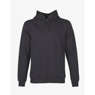 Sweatshirt à capuche Colorful Standard Lava Grey