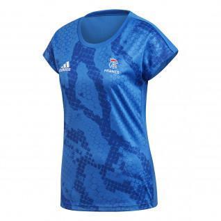 Maillot d'entrainement Femme Adidas Equipe de France Handball