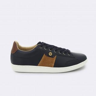 Chaussures Faguo tennis hosta leather suede