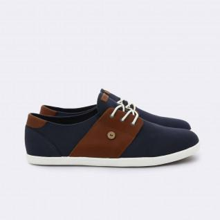 Chaussures Faguo tennis cypress cotton leather bis