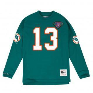 Sweatshirt Mitchell & Ness Ls Miami Dolphins