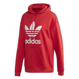 Sweatshirt à capuche femme adidas originals Adicolor