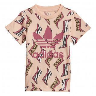 T-shirt baby adidas Originals All-Over Print
