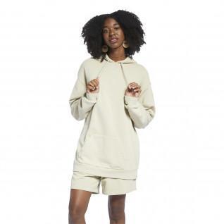 Sweatshirt à capuche femme Reebok Classics Natural Oversized