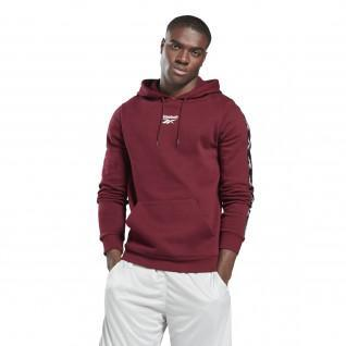 Sweatshirt à capuche Reebok Training Essentials Tape