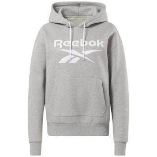 Sweat à capuche femme Reebok Identity Logo Fleece
