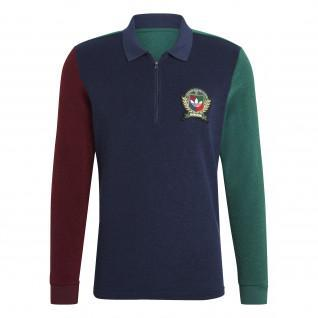 Polo manches longues adidas Originals Collegiate Crest