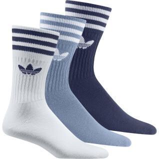 Lot de 3 paires de chaussettes mi-mollets adidas Originals