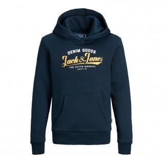Sweatshirt enfant Jack & Jones JJelogo blocking