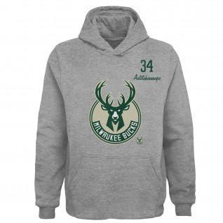 Hoodie enfant Outerstuff Player NBA Milwaukee Bucks
