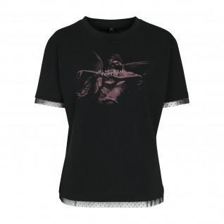 T-shirt femme Urban Classics my chemical romance shrine angel laces